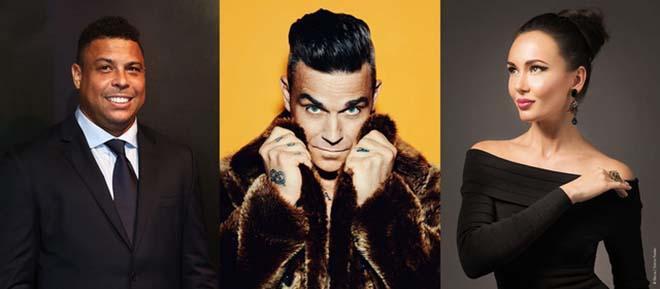 "Bộ ba ""Ro béo"" - Robbie Williams - Aida Garifullina"