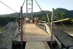 Cầu Chôm Lôm được nối lại, hơn 2.500 người dân có thể qua sông