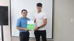 Bầu Đức ký hợp đồng với 'hot boy' bóng đá Việt Nam