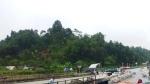 Cầu Ngòi Thủ sạt lở, nhiều phương tiện bị cấm lưu thông ở cao tốc Nội Bài - Lào Cai