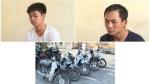 Bắt 2 'đạo chích' gây ra 13 vụ trộm xe máy