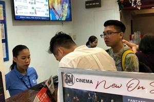 Vé bán kết lượt đi Philippines vs Việt Nam bán ở... rạp chiếu phim