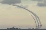 Hải quân Nga phát thông báo khẩn NOTAM: Tên lửa lại bay rợp trời ngoài khơi Syria