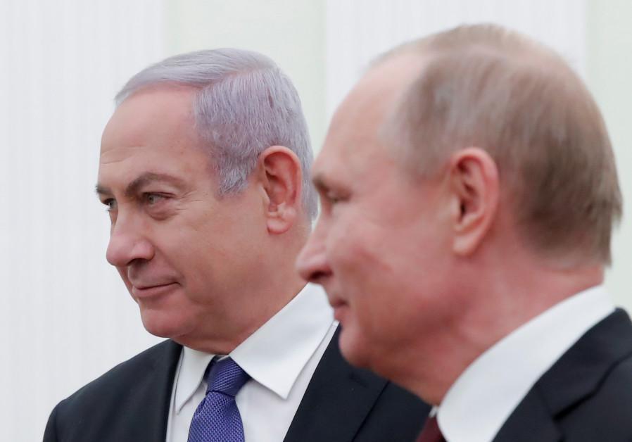 Hai nhà lãnh đạo Nga - Israel có cuộc gặp chính thức đầu tiên kể từ sau sự cố máy bay Nga bị bắn rơi ở Syria tháng 9 năm ngoái.