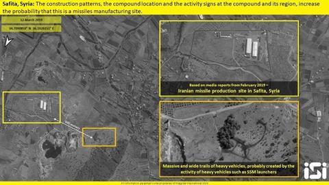 Các dãy nhà kho chứa tên lửa đạn đạo của Iran nằm trọn vẹn trong tầm bảo vệ của tổ hợp phòng không S-300PM.