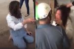 Vợ ngoại tình bị đánh ghen ở khách sạn, chồng một mực can ngăn: