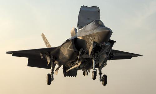 Tiêm kích F-35B của thủy quân lục chiến Mỹ. Ảnh: USNI.