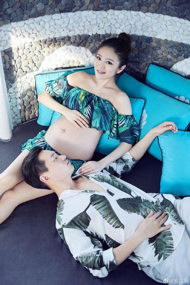 Bà bầu U40 trẻ trung xinh đẹp bên chồng tỉ phú - đại gia bất động sản Ma Cao Trần Vĩnh Luyện.
