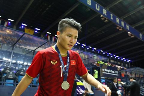 Báo Thái Lan đánh giá rất cao tài năng của Quang Hải. Ảnh: Quang Thịnh
