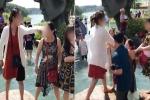 Clip: Cãi nhau về chỗ chụp ảnh tại hồ Vô Cực ở Đà Lạt, 2 người phụ nữ lao vào 'choảng' túi bụi
