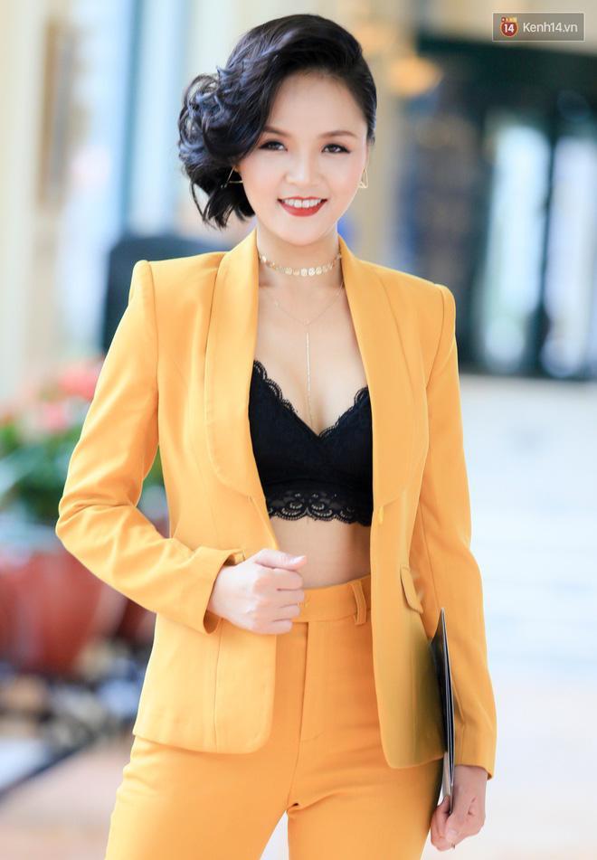 Thu Quỳnh cho biết mối quan hệ giữa cô và nghệ sĩ Hoàng Dũng vẫn tốt đẹp.