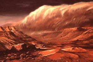 Siêu bão bụi 'nuốt chửng' hàng xóm Trái đất?