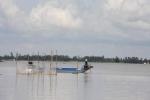 An Giang mùa lũ... cạn: Dòng sông trơ đáy, chẳng thấy cá tôm
