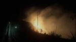 TT-Huế: Cháy rừng dữ dội trong đêm, 5 ha keo lai bị thiêu rụi