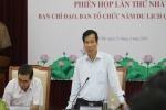 Bộ trưởng Nguyễn Ngọc Thiện: 'Ninh Bình cần tận dụng cơ hội là địa phương đăng cai tổ chức Năm Du lịch Quốc gia 2020 để tạo ra bứt phá'