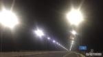 Cây cầu gần 3.000 tỷ nối Hưng Yên với Hà Nam mất an toàn vì đèn chiếu sáng hoạt động nửa vời