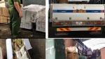 Pháthiện 2 xe tải chở gần 16.000 sản phẩm 'ngoại' gom từ Lào Cai về không rõ nguồn gốc