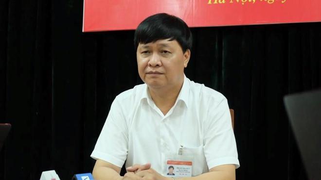 Ông Phạm Gia Hữu - Trưởng Phòng GD&ĐT quận Thanh Xuân, TP. Hà Nội. Ảnh: Q.Q.