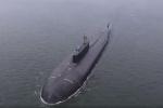 Tàu ngầm hạt nhân Omsk phóng tên lửa diệt mục tiêu cách 350 km