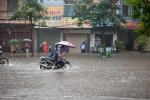 Dự báo thời tiết hôm nay 8/10: Hà Nội mưa to đến rất to và rải rác có dông