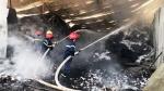 Cháy kho chứa bông phế liệu ở huyện Dương Minh Châu