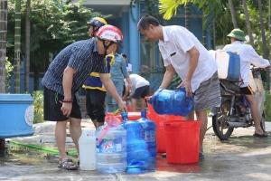 Công ty Sông Đà đã cấp nước trở lại, người dân có nước sạch dùng trong hôm nay?