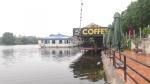 Hà Nam: Ngang nhiên xây dựng nhà hàng, quán caffe trên sông Châu