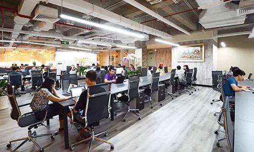 Một khu văn phòng chia sẻ đã hoạt động vài năm tại TP.HCM. Ảnh: Dreamplex
