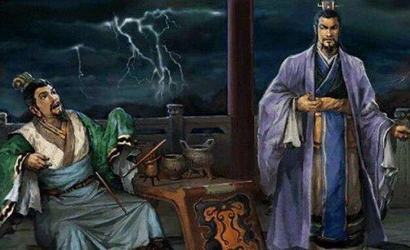Lưu Bị giật mình rơi đũa khi uống rượu luận anh hùng cùng Tào Tháo.