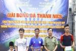 Sôi nổi Giải Bóng đá Thanh niên Công an TP Cần Thơ năm 2019