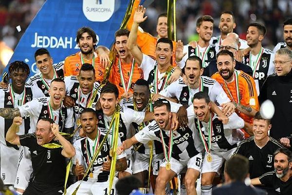 Lịch thi đấu của Juventus mùa giải 2019/2020