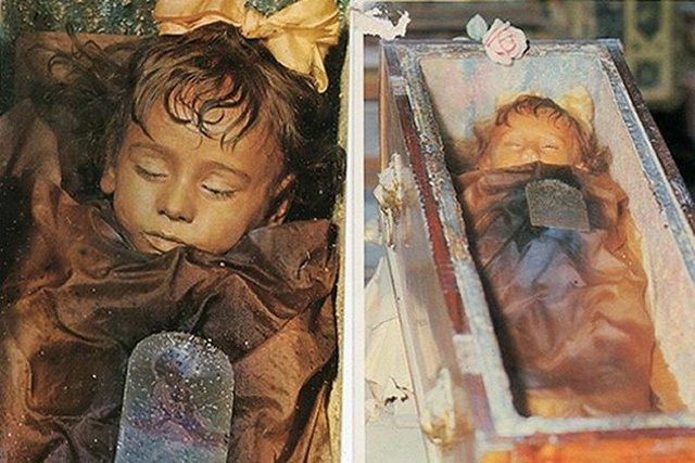 Bé gái Rosalia đã qua đời từ năm 1920.