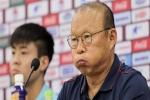 HLV Park Hang-seo: 'Tôi từng cảnh cáo một vài cầu thủ Việt Nam, nhắc họ đừng làm tôi thất vọng'