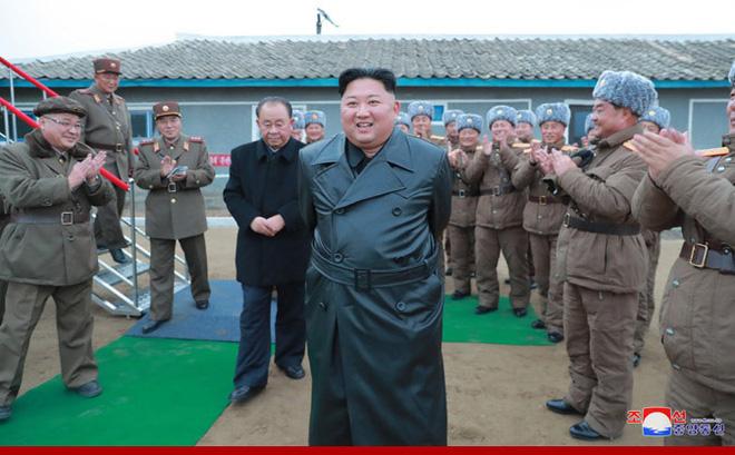 Chủ tịch Kim Jong Un. Ảnh: KCNA.