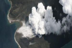 Nghiên cứu mới: Vụ phun trào núi lửa Indonesia năm 2018 đã tạo ra sóng thần cao ít nhất 100m