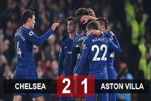 Chelsea 2-1 Aston Villa: Lampard đánh bại Terry, Chelsea trở lại mạch thắng