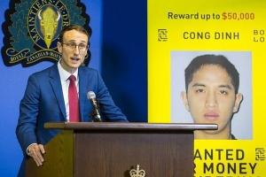 Canada truy nã tội phạm gốc Việt, treo thưởng hơn 37.000 USD