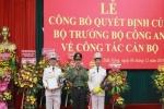 Bộ Công an Công bố quyết định điều động, bổ nhiệm Giám đốc Công an tỉnh Đắk Lắk và Đắk Nông