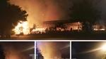 'Bà hỏa' thiêu rụi một nhà hàng lớn giữa trung tâm thành phố Thủ Dầu Một