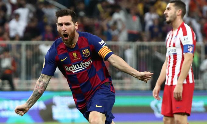 Messi ghi bàn sau một pha solo ngoạn mục