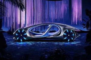 Mercedes Vision AVTR - ôtô và con người 'hợp nhất'
