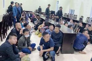 Hành trình triệt xóa ổ bạc 'khủng', bắt giữ 101 đối tượng bên bờ sông Lam