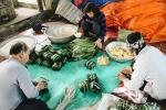 Ảnh: Về làng bánh chưng trứ danh Tranh Khúc giữa thời điểm giá thịt lợn tăng 'phi mã'