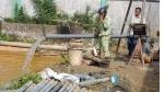 Sóc Trăng: Khoan nhiều giếng ngầm để đảm bảo nguồn nước ngọt dịp tết