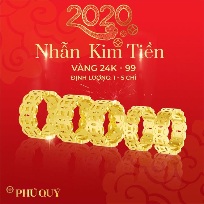Nhẫn kim tiền phú quý vàng 24K luôn là sản phẩm được yêu thích.