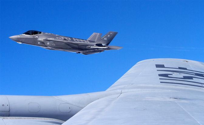 Trên ảnh: F-35 (Ảnh: ZUMA Press/ ТАSS).