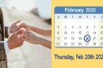 Hôm nay - ngày 20/02/2020 chính là ngày hoàn hảo nhất trong năm