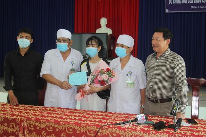 Trường hợp đầu tiên và duy nhất đến thời điểm này được ghi nhận nhiễm Covid-19 trên địa bàn tỉnh Khánh Hoà đã xuất viện vào ngày 4/2. Ảnh: SYTCC.