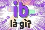 Ib là gì trên Facebook? Ý nghĩa của Ib