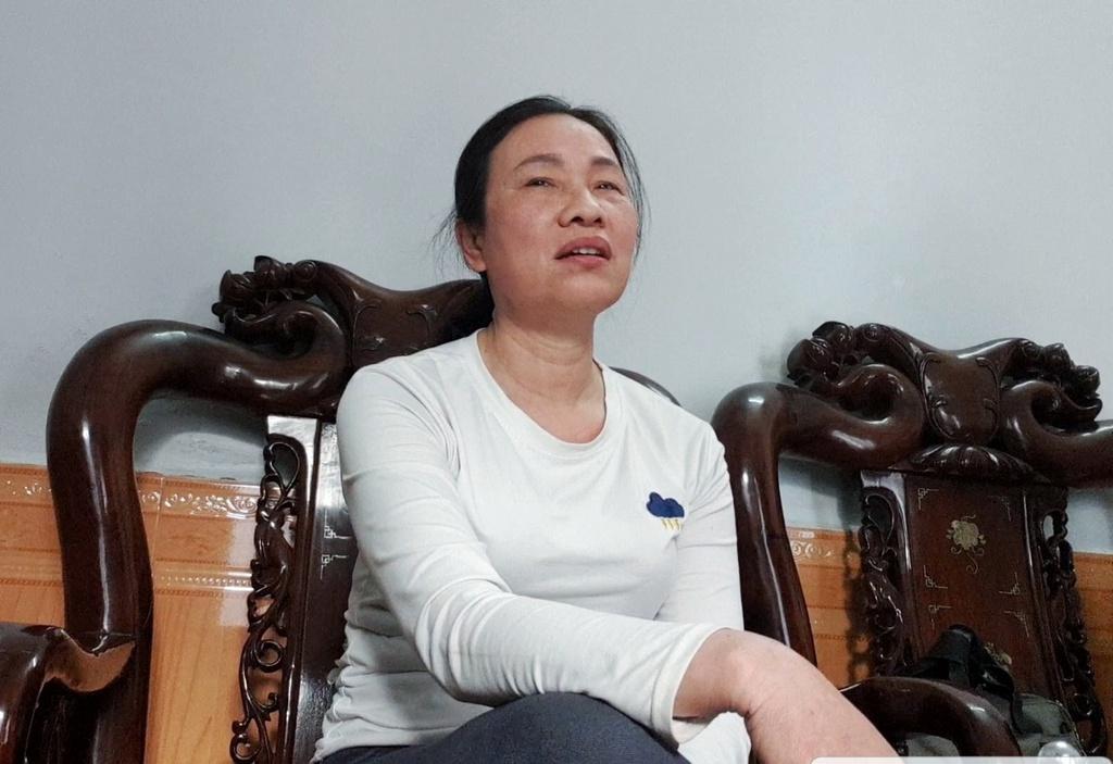 Bà Kim Thị Phương. Ảnh: T.G.